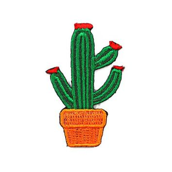 Desert Cactus Mini Sticker Patch