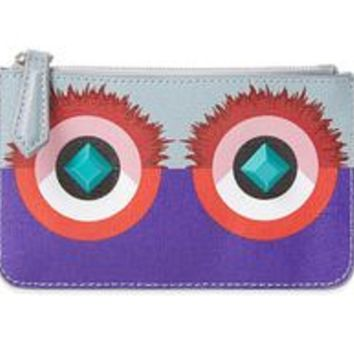 Fendi Monster Powder Multi Color Crayons Calf Beauty Case 8M0341-88E