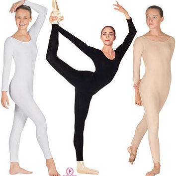 Eurotard Long Sleeve Unitard - Adult