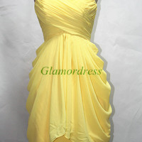 short chiffon bridesmaid dresses custom colors sweetheart bridesmaid gowns simple sky blue prom dress homecoming dresses