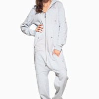 Invincible Onesuit Grey Melange - Womens