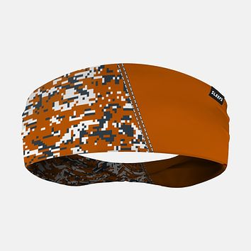 Arsenal Digi Camo Orange Gray Headband