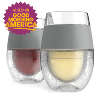 HOST Freeze Cooling Wine Glasses (Set of 2)
