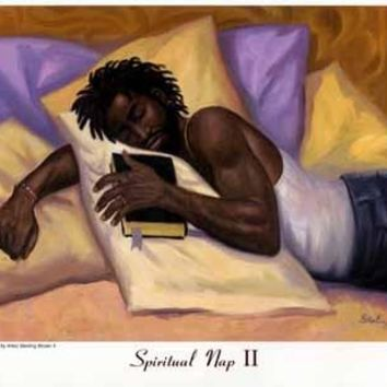 Spiritual Nap II Sterling Brown (Mini) Art Print
