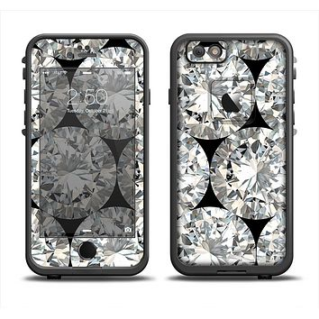 The Diamond Pattern Apple iPhone 6 LifeProof Fre Case Skin Set