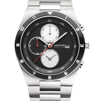 BERING Solar 40mm Chronograph Watch B34440-702