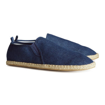 H&M - Espadrilles - Denim blue - Men