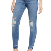 DL1961 Emma Ripped Low Rise Skinny Jeans (Hightower) | Nordstrom