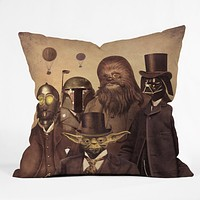 Terry Fan Victorian Wars Throw Pillow