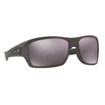 Oakley Turbine Sunglasses Woodgrain Collection Prizm Daily Polarized OO9263-34