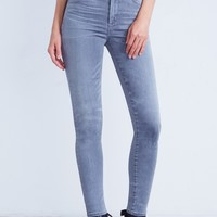 Carlie Crop High Rise Skinny in Shadow
