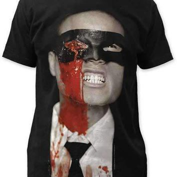 Kill Bill POKED OUT EYE MENS BIG PRINT SUBWAY TEE SHIRT