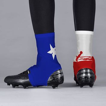 Texas Beast State Flag Spats / Cleat Covers