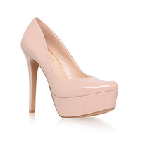 Nude 'Waleo' high heel platform court shoes at debenhams.com