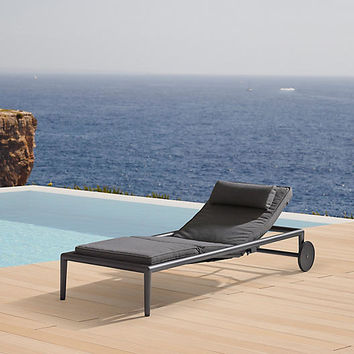 Conic Chaise, Gray - Outdoor | One Kings Lane