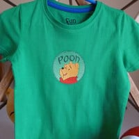 Winnie the Pooh embroidered T-shirt