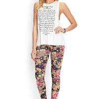 Baroque Rose Leggings