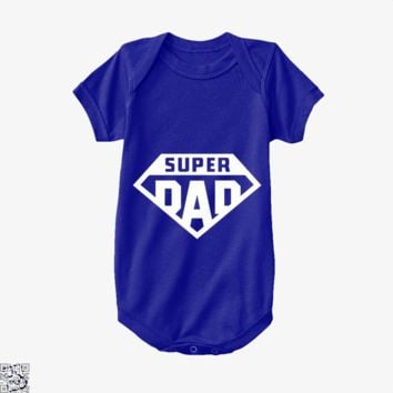 Superdad, Father's Day Baby Onesuit