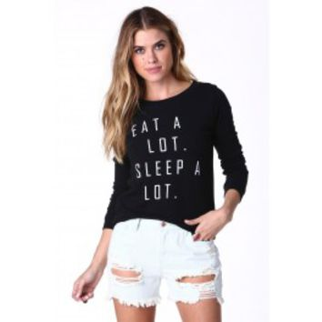 Perfect Motto Long Sleeve Top