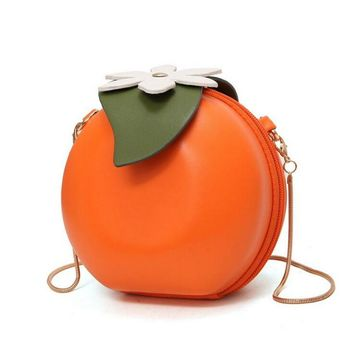 Orange You Glad Crossbody Bag