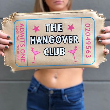 """The Hangover Club"" Clutch"