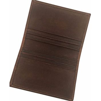 Men's Genuine Leather Vintage  Business Card Case-  The Marquee