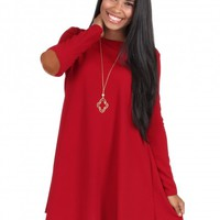 That's On You Dress in Burgundy | Monday Dress Boutique