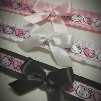 Hello Kitty-Hearts~   Kitten Play Collar