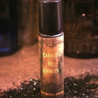 CARNIVAL OF GHOSTS Artisan Perfume RollOn Oil by BlackBaccara