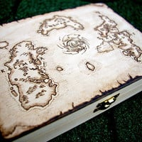 World of Warcraft - Azeroth map box