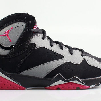 Air Jordan Big Kid's 7 VII Retro GS Sport Fuchsia