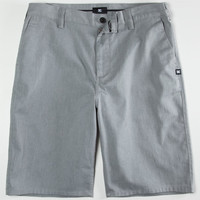 Dc Shoes Worker Mens Shorts Grey  In Sizes