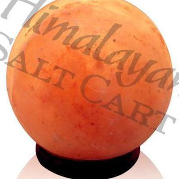 Himalayan Salt Mini Globe Lamp 4-5 lbs