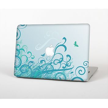 The Escaping Butterfly Floral Skin for the Apple MacBook Pro Retina 13""