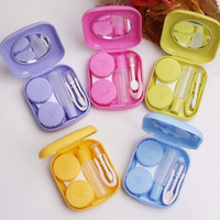 Cute Pocket Container Holder Mini Contact Lens Case