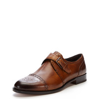 Rovanni Leather Monkstrap Loafer
