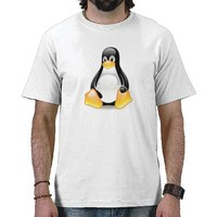 linux-penguin-tux tshirts from Zazzle.com
