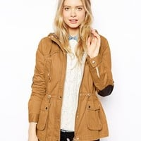 ASOS Jacket With Popper Detail And Jersey Lining