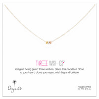 Three Wishes Stardust Bead Necklace by Dogeared