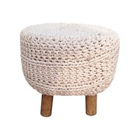 Hitched Ottoman Stool