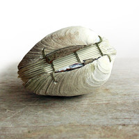Offering No. 81- Handstitched Clamshell Book Sculpture