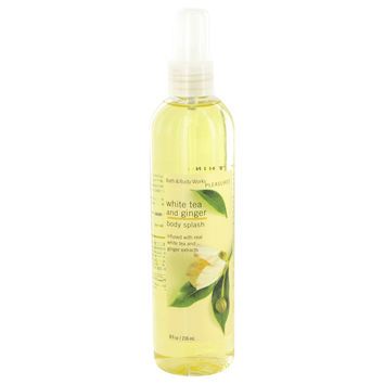 White Tea and Ginger by Bath & Body Works, Body Spray Infused with Real White Tea and Ginger Extracts 8 oz