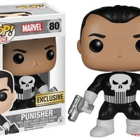 Funko Punisher POP! Marvel Punisher Exclusive Vinyl Bobble Head #80