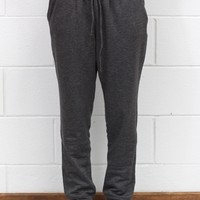 Loose Fitting Jogger Sweatpants {Charcoal}