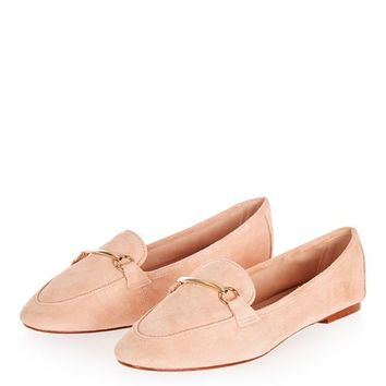 LIBBY Leather Softy Loafers - Shoes