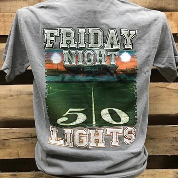 Backwoods Born & Raised Friday Night Lights Football Bright Unisex T Shirt