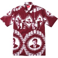 Supreme: Kennedy Shirt - Burgundy