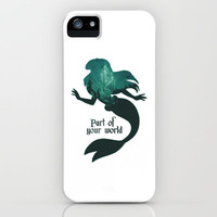 Part of your World iPhone & iPod Case by MargaHG