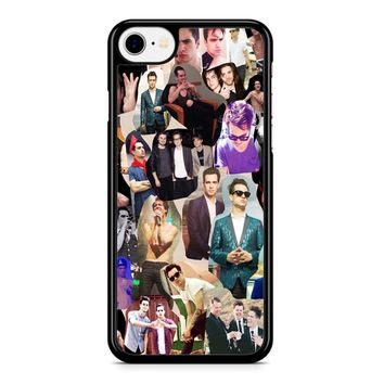 Brendon Urie Collage 1 iPhone 8 Case