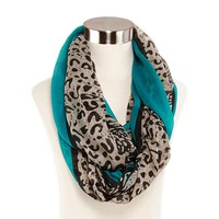 jcpenney - Animal Print Infinity Scarf - jcpenney